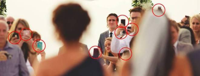apaga en la boda
